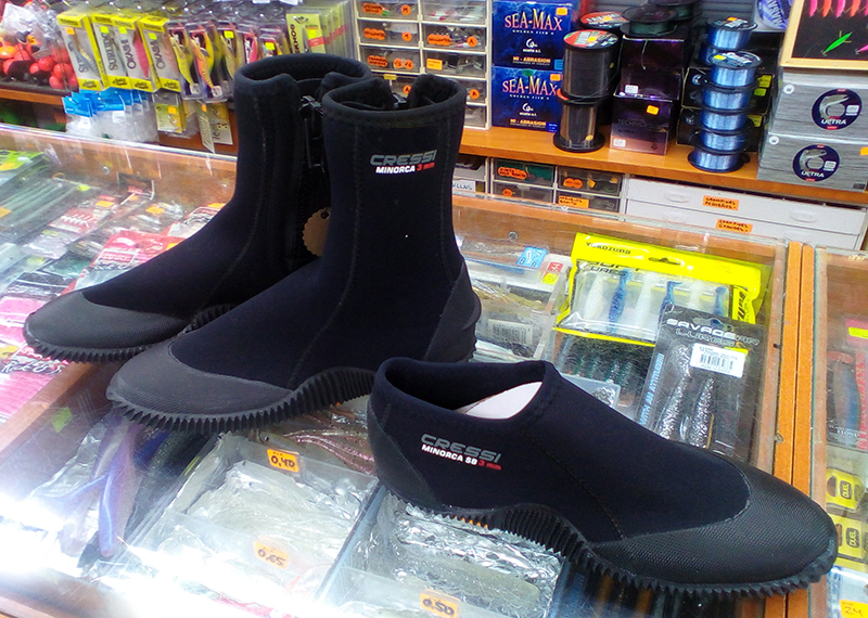 escarpines botas cressi