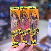 Pack de 3 señuelos Yamashita Egi-Oh K en 3.5